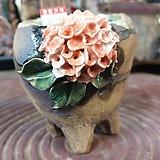 란 수제화분 세일 (LAN) 꽃코사지 No.12 [premium handmade] - 다육화분 Handmade Flower pot