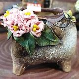란 수제화분 세일 (LAN) 꽃코사지 No.18 [premium handmade] - 다육화분 Handmade Flower pot