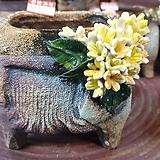 란 수제화분 세일 (LAN) 꽃코사지 No.21 [premium handmade] - 다육화분 Handmade Flower pot