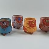 수제화분 백일홍 Handmade Flower pot