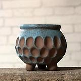 수제화분 행복상회B(블루)|Handmade Flower pot