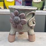 조은공방 원형 수제화분 다육이화분9|Handmade Flower pot