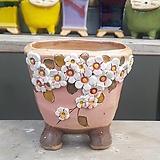 사각 수제화분 다육이화분1|Handmade Flower pot