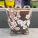 사각 수제화분 다육이화분3|Handmade Flower pot
