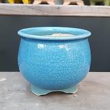 하늘색 고급 수제화분 다육이화분|Handmade Flower pot