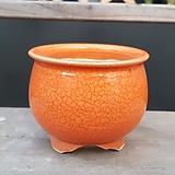 주황색 고급 수제화분 다육이화분|Handmade Flower pot