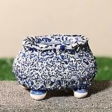 국산수제화분 도향복주머니#11|Handmade Flower pot