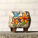 수제화분토리5-2화이트(미니화분)|Handmade Flower pot