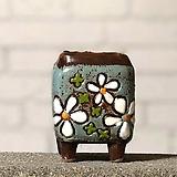 수제화분토리5-3블루(미니화분)|Handmade Flower pot