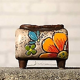 수제화분토리5-4화이트(미니화분)|Handmade Flower pot