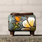 수제화분토리5-4블루(미니화분)|Handmade Flower pot