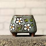 수제화분토리5-5블루(미니화분)|Handmade Flower pot