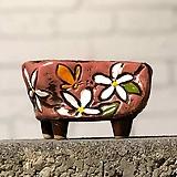 수제화분토리5-6핑크(미니화분)|Handmade Flower pot
