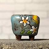 수제화분토리5-7블루(미니화분)|Handmade Flower pot
