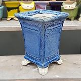 파랑색 중대형 수제화분 다육이화분|Handmade Flower pot
