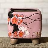 수제화분 달보드레B(연보라)|Handmade Flower pot