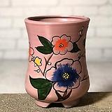 수제화분 달보드레C(연보라)|Handmade Flower pot