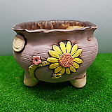 꽃이다공방 명품 수제화분 #3933 Handmade Flower pot