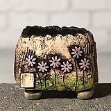국산수제화분 도향#101(보라)|Handmade Flower pot
