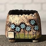 국산수제화분 도향#101(파랑)|Handmade Flower pot