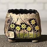 국산수제화분 도향#101(노랑)|Handmade Flower pot