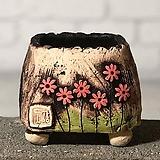 국산수제화분 도향#101(빨강)|Handmade Flower pot