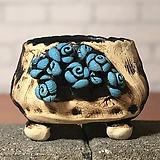 국산수제화분 도향#102(파랑)|Handmade Flower pot