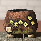 국산수제화분 도향#103(노랑 다크)|Handmade Flower pot