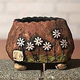 국산수제화분 도향#103(보라 다크)|Handmade Flower pot