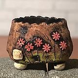 국산수제화분 도향#103(빨강 다크)|Handmade Flower pot