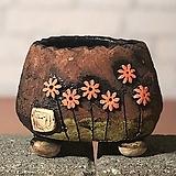 국산수제화분 도향#103(주황 다크)|Handmade Flower pot