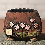 국산수제화분 도향#103(핑크 다크)|Handmade Flower pot