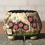 국산수제화분 도향#103(빨강 라이트)|Handmade Flower pot