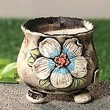 국산수제화분 도향#104(파랑)|Handmade Flower pot