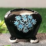 국산수제화분 도향 블랙에디션A(블루)|Handmade Flower pot