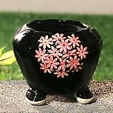 국산수제화분 도향 블랙에디션A(핑크)|Handmade Flower pot