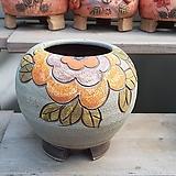 무광 꽃그림 수제화분 다육이화분2|Handmade Flower pot