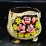 꽃수제화분22|Handmade Flower pot