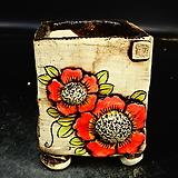 꽃사각수제화분42|Handmade Flower pot