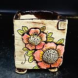꽃사각수제화분43|Handmade Flower pot