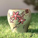 수제화분 바람꽃2(연두D)|Handmade Flower pot