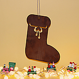 스틸데코 양말 크리스마스 철제장식 인테리어|Echeveria Agavoides Christmas
