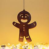 스틸데코 진저맨쿠키 크리스마스 철제장식 인테리어|Echeveria Agavoides Christmas