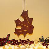 스틸데코 호랑가시열매 크리스마스 철제장식|Echeveria Agavoides Christmas