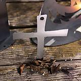 스틸데코 십자가 모빌 할로윈 철제장식 인테리어|Aeonium Halloween