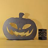 스틸데코 호박받침형 할로윈 철제장식 인테리어|Aeonium Halloween