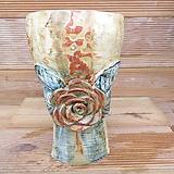 소향 수제화분(중대사이즈/주물럭색유약)|Handmade Flower pot