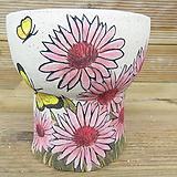 소향 수제화분(흑상감/무시유/중대사이즈)|Handmade Flower pot