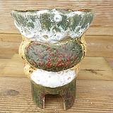 소향 수제화분(대사이즈/색유약분)-8|Handmade Flower pot