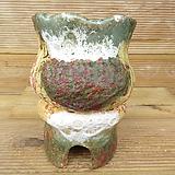 소향 수제화분(중대사이즈/색유약분)-9|Handmade Flower pot